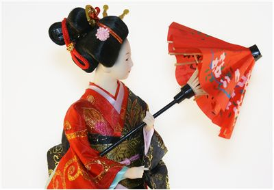 Geisha Japanese Doll
