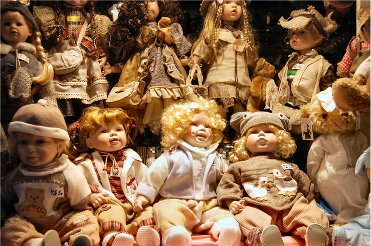 Old Dolls Collection